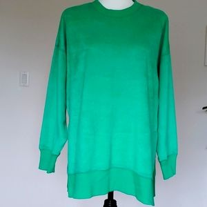 NEW Aerie Oversized Green Sweater Size Small NWOT